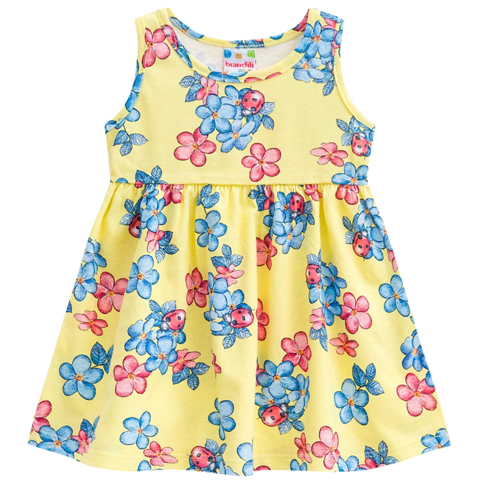 Vestido Verão Brandili Club Estampa Floral - P ao G