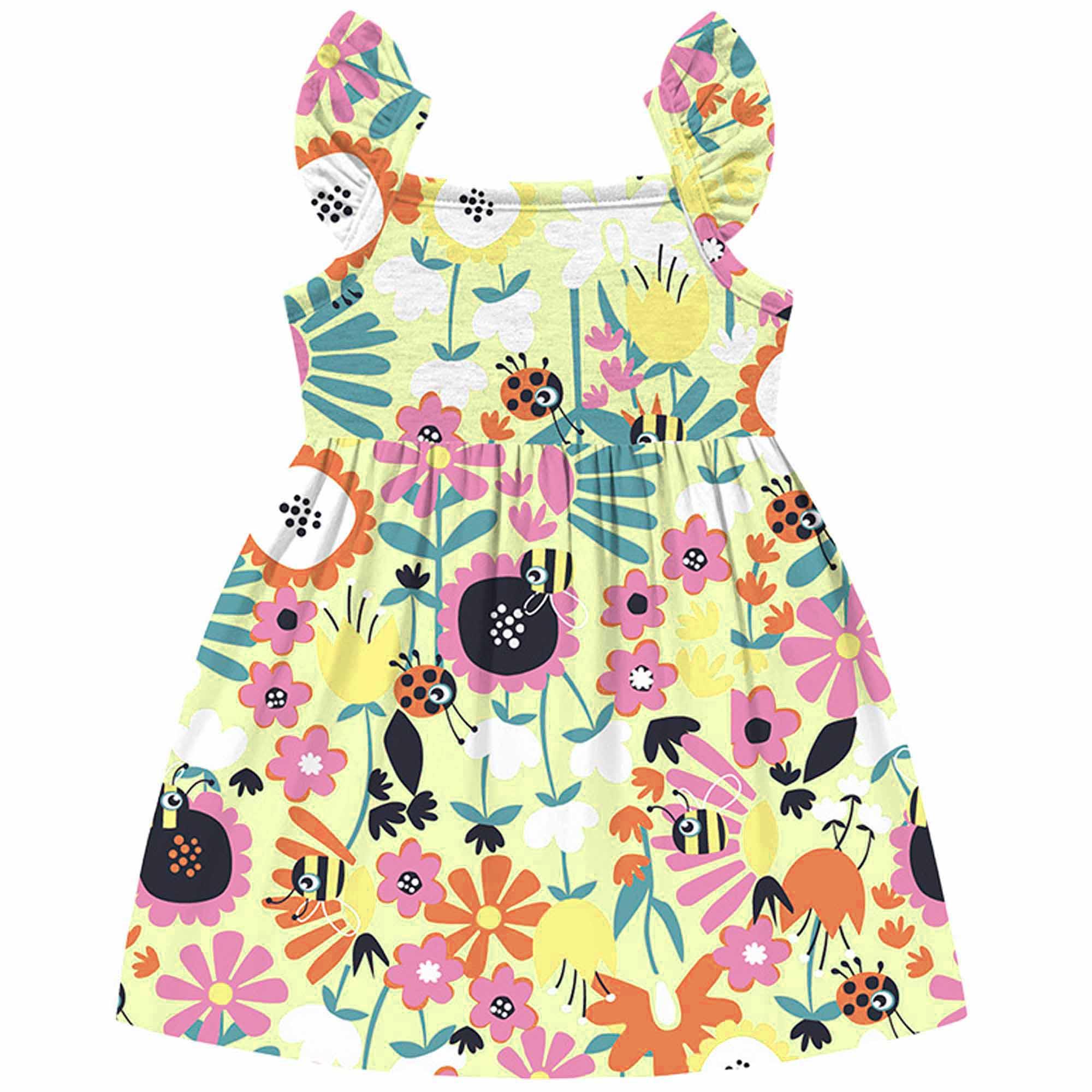 Vestido Verão Kiko e Kika - Florido - P ao G