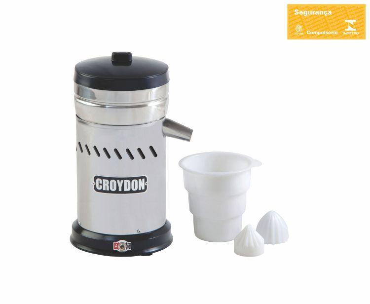 Extrator de Suco Comercial Aço Inox 0,5 CV ES4EA-S Croydon
