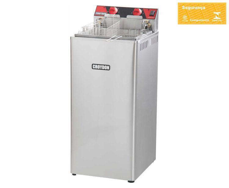 Fritadeira Elétrica 15 Litros Zona Fria 8000w FZ28 - Croydon