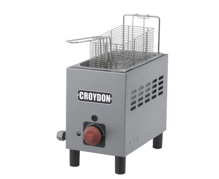 Fritadeira Gás 1 Cuba 3 Litros F1AG - Croydon