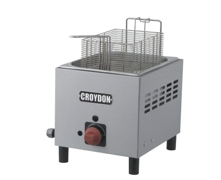 Fritadeira Gás 1 Cuba 4,5 Litros F1BG - Croydon