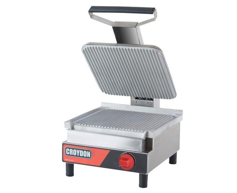 Sanduicheira Gás Simples Chapa Estriada SASE-G Croydon