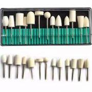 Kit Brocas Com 13 Modelos Para Unhas De Porcelana Para Polir- Micromotor E Lixadeira