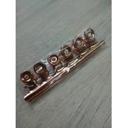 Presilhas para Curvatura C para Alongamento de Unhas de Aço Pequena c/ 6 Cor Rose Gold