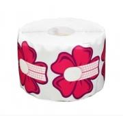 Rolo 500 Moldes Adesivos Flor p/ unha em Gel, Porcelana e Acrílica
