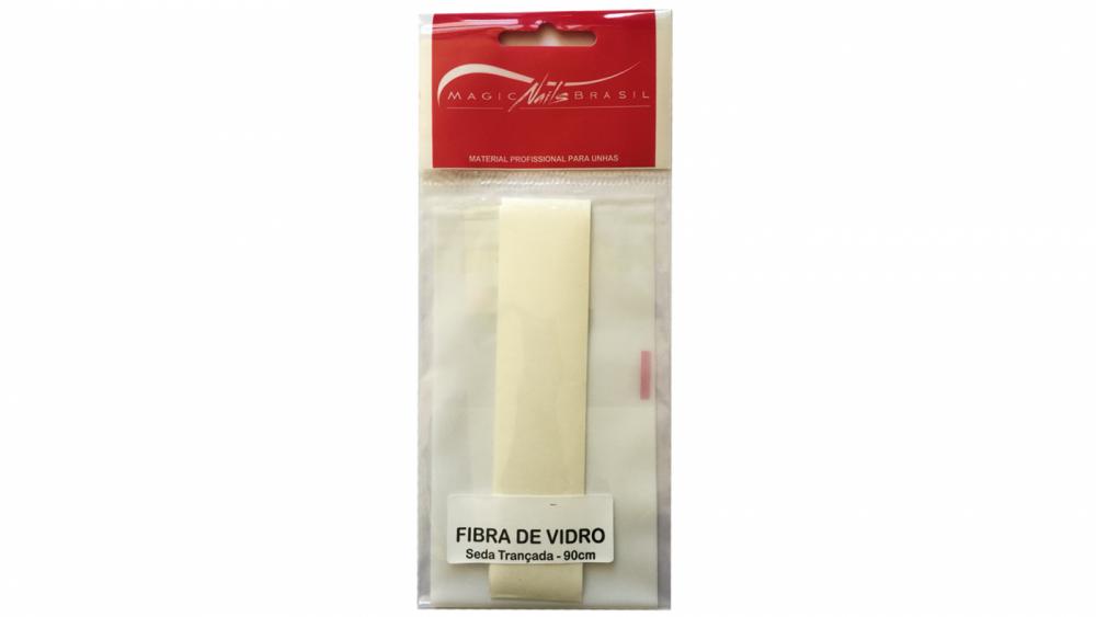 Fibra De Seda Para Alongamento De Unhas Fiberglass Magic Nails 90 cm