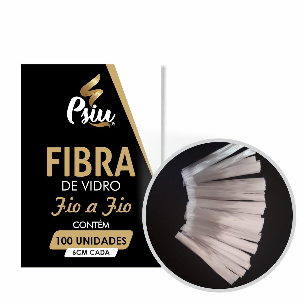 Fibra de Vidro Fio à Fio Psiu 100 unidades