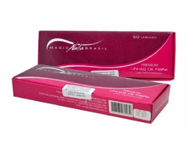 Fibra De Vidro Magic Nails Para Alongamento  de Unhas De Fibra Com 50un