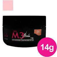Gel Para Unhas Magic Nails M3 Nude 1 LED/UV 14g