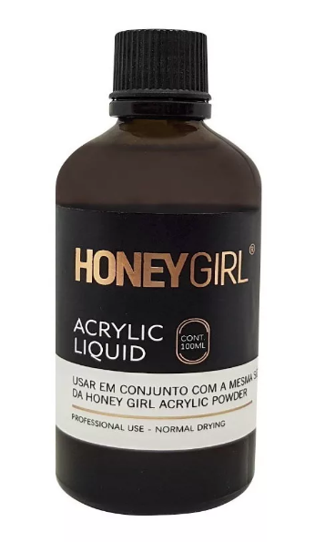 Monomer Liquido Acrílico Honey Girl 100 Ml