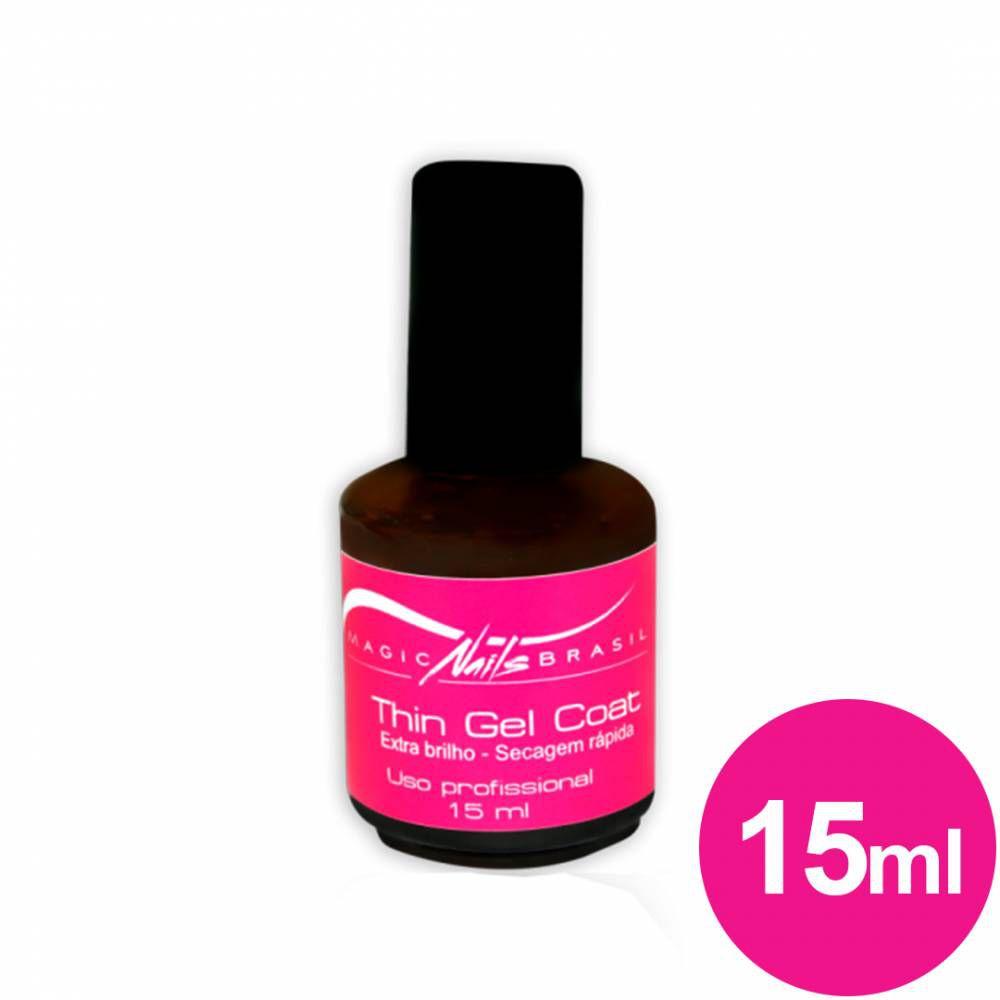 Thin Gel Coat Magic Nails - 15ml Top Coat