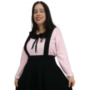 Blusa Rosa Feminina Sob Medida