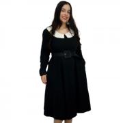 Vestido Midi Preto