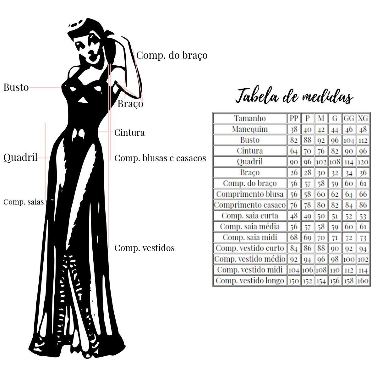 Vestido de Bolinha Midi