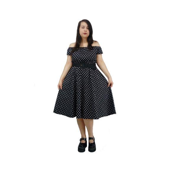 Vestido de Poá Midi Sob Medida
