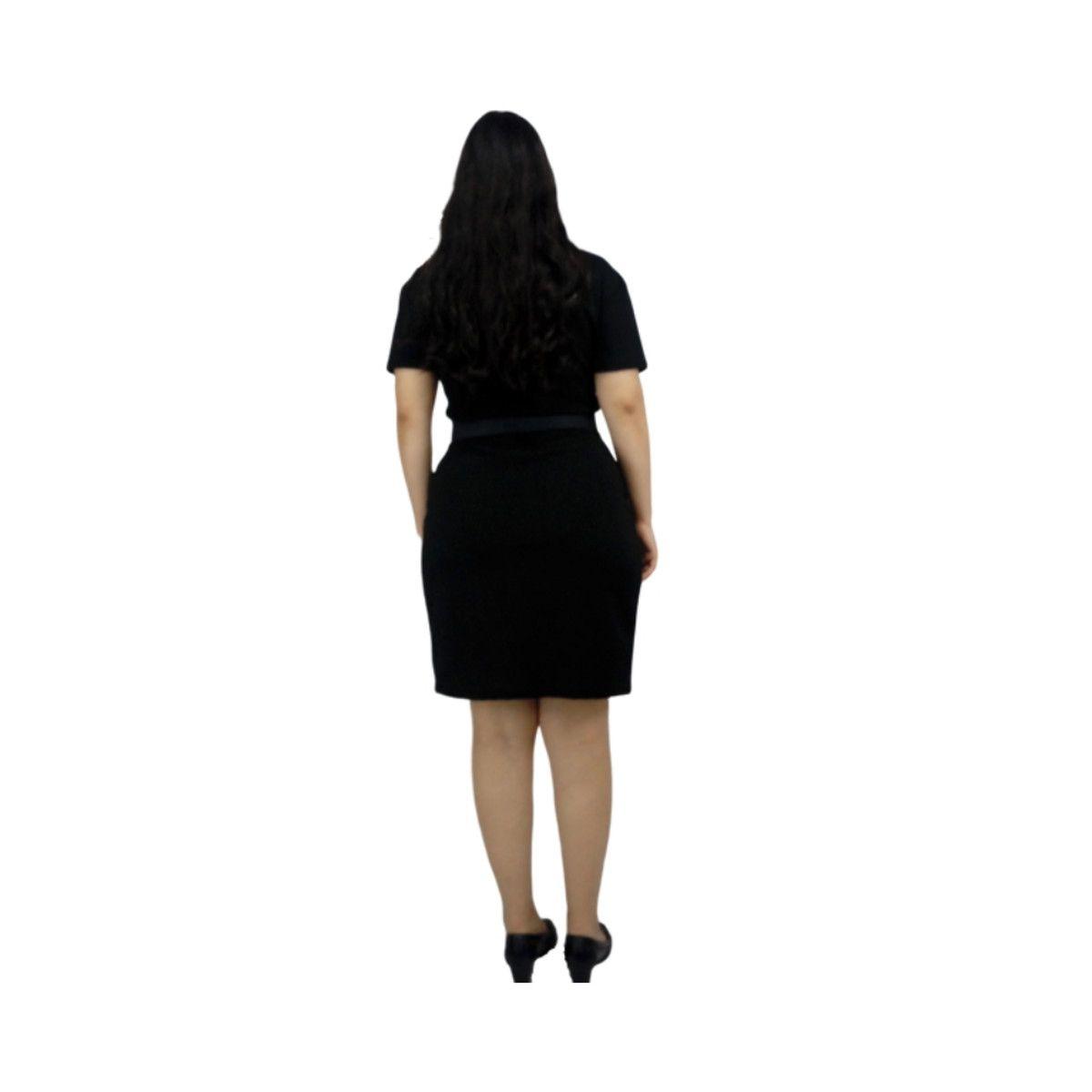Vestido Sabrina Spellman Preto