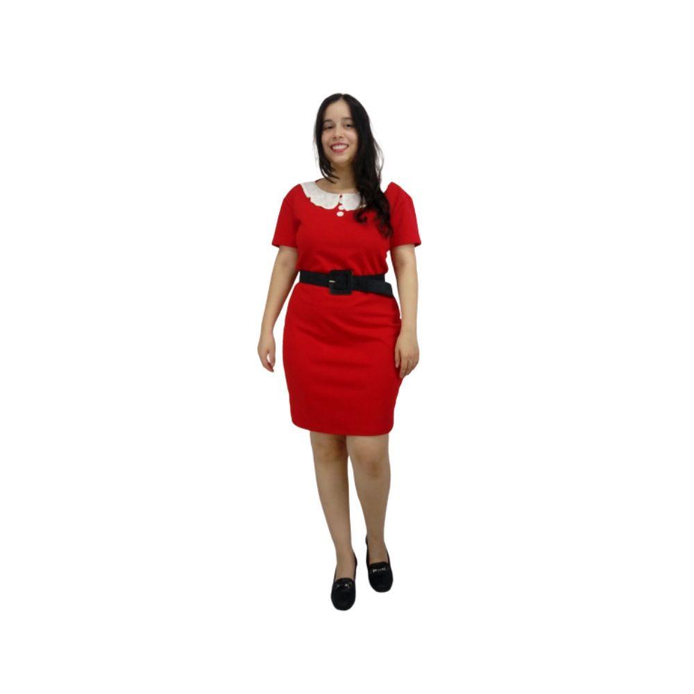 Vestido Sabrina Spellman Vermelho