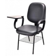 Cadeira Universitária Diretor Escamoteável Com Braço