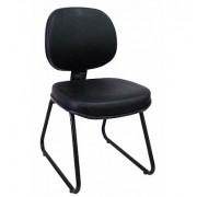 Cadeira fixa executiva estrutura em trapézio