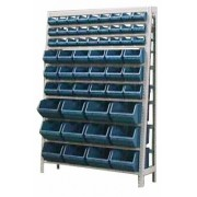 Estante caixa box organizadora Mista para gavetas bin nº 3, 5 e 7 com 57 Gavetas