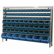 Estante caixa box organizadora Mista para gavetas bin nº 3, 5 e 7 com 82 Gavetas