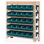Estante caixa box organizadora para gavetas bin nº 3  25 Gavetas