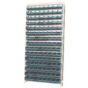 Estante caixa box organizadora para gavetas bin nº 4 com 120 Gavetas