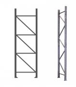 Lateral para Mini Porta Pallet - 3000 mm x 800 mm