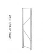Lateral para Mini Porta Pallet (SLIM) - 2000 mm x 600 mm