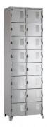 Roupeiro de aço - armário para vestiário - 16 portas  - 02 corpos - (Pronta entrega)