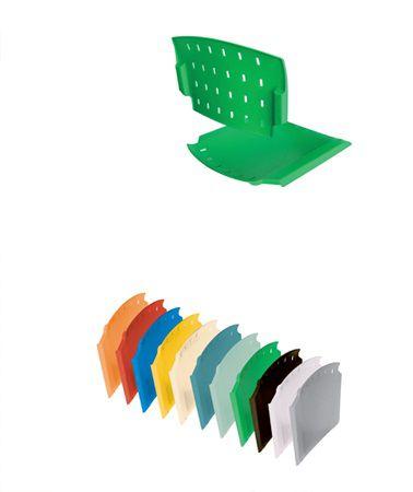 Assento e Encosto para cadeira plastica empilhável  Prisma Rhodes