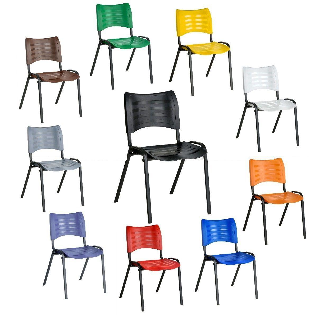 Assento e Encosto para cadeira plastica empilhável  Turim