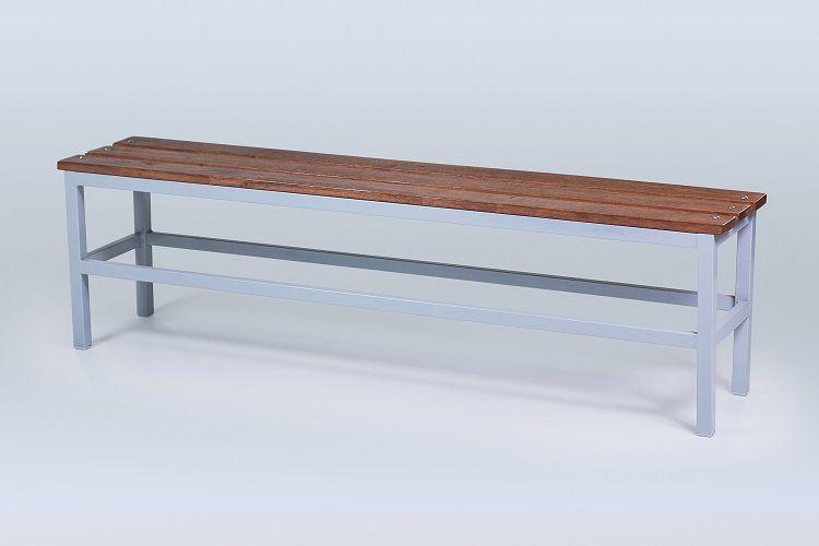 Banco para Vestiário de madeira - 3 ripas