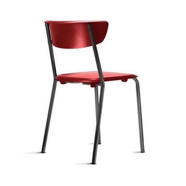 Cadeira Clássica Bit empilhável Color - Conjunto com 4