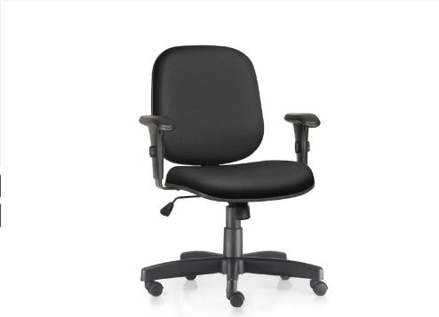 Cadeira Diretor Giratória  regulável com Braços