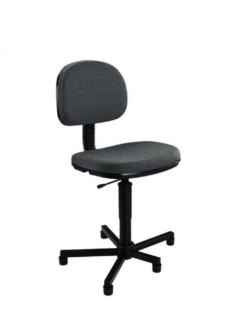Cadeira para Costureira Nr17 Ergonomica Preta com certificado