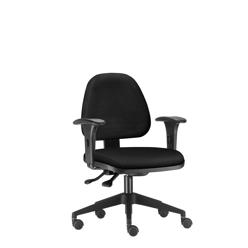 Cadeira para escritório giratória sky frisokar (Preta)