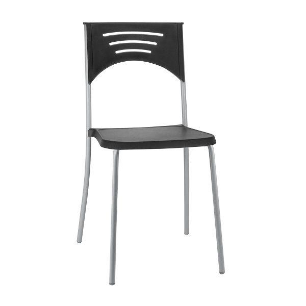 Cadeira Plástica Bliss Cinza