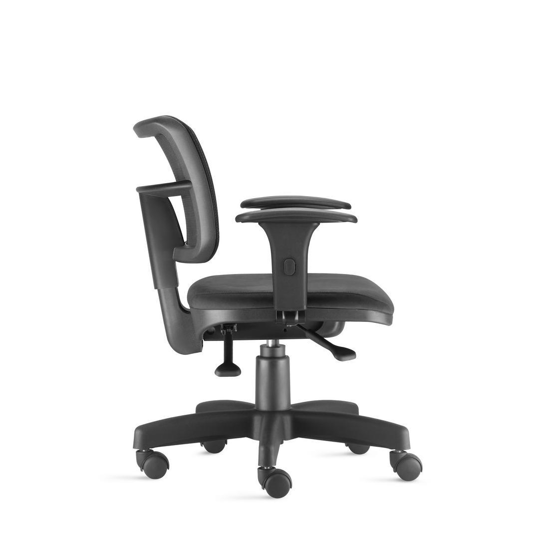 Cadeira Poltrona Giratória com ajustes Zip.