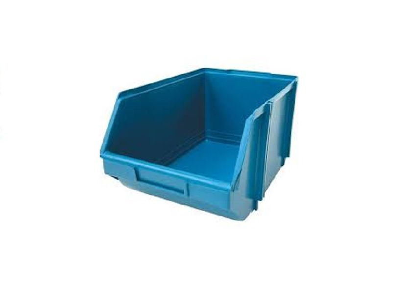 Caixa Organizadora Gaveteiro Plástico Bin nº 7 Pacote 12 unidades Preta