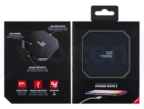 Carregador Wireless Easy Mobile Power Mate 5 Preto