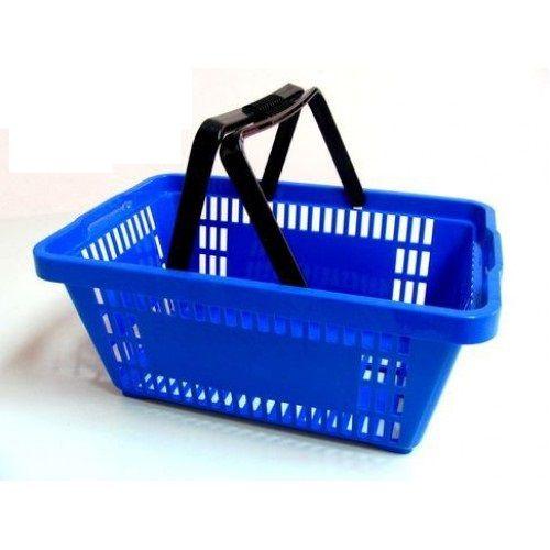 Cesto Plástico de compras  (Pacote com 5)