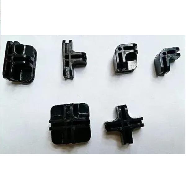Conectivos para balcões aramados e vidros preto, pacote com 20 unidades
