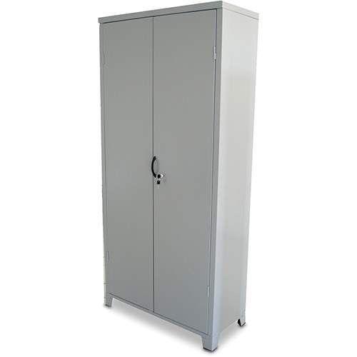 Armário de aço - 02 portas de abrir - Chapa 26