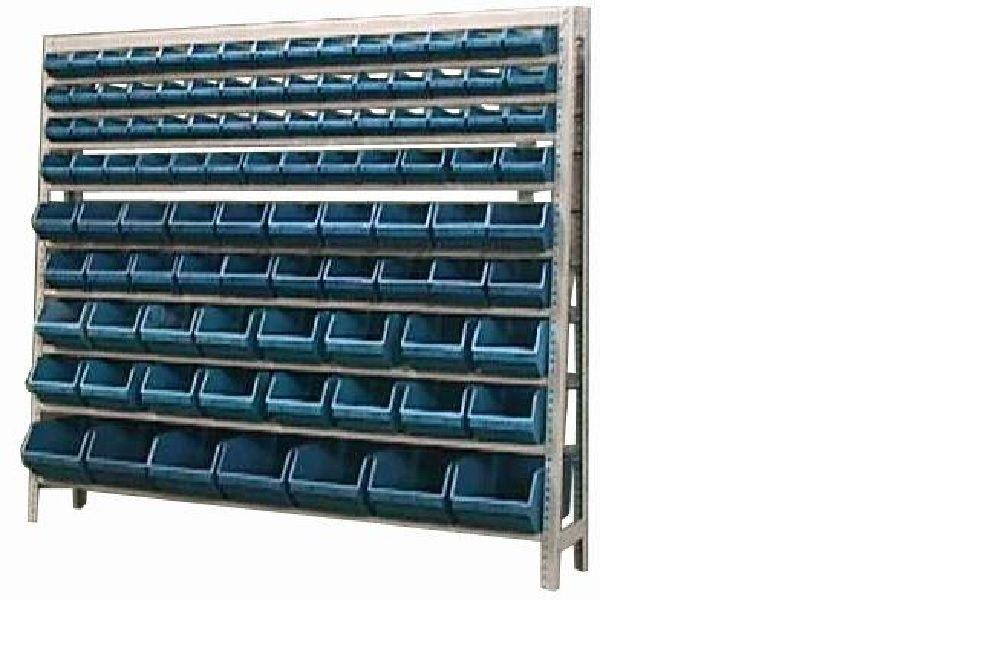 Estante caixa box organizadora Mista para gavetas bin nº 3, 4, 5, 6 e 7 com 101 Gavetas
