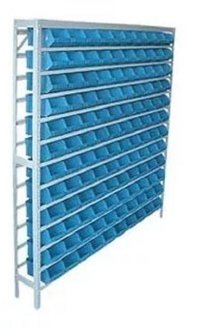 Estante caixa box organizadora para gavetas bin nº 5 com 120 Gavetas