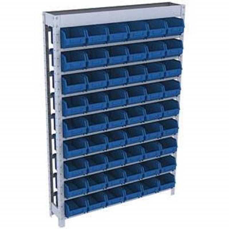 Estante caixa box organizadora para gavetas bin nº 5 com 72 Gavetas