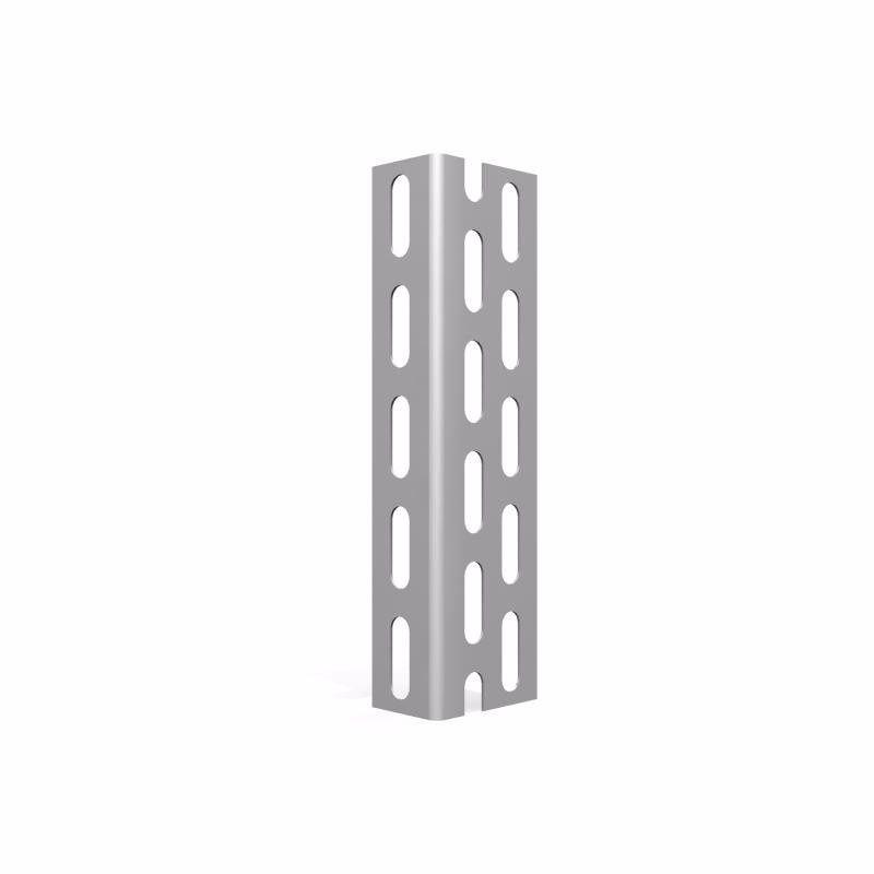 Estante de aço industrial 2,00 mt com 5 bandejas de 0,60 cm - ch 22