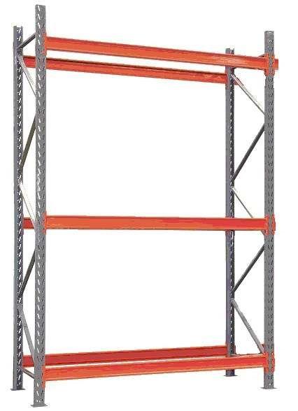 Longarina para Porta Pallet 2300 mm - 2000 kg - conjunto com 2 unidades